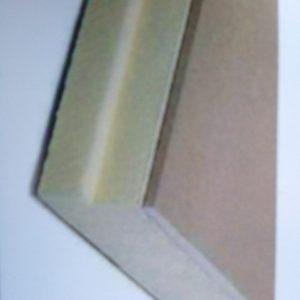 Gipsplader med isolering/Varmvæg